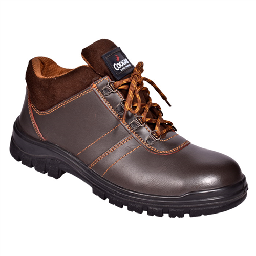 Shine Brown - Coogar Safety Shoes